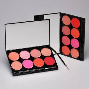 Cheek Powder Palette paleta 8 róży MEHRON