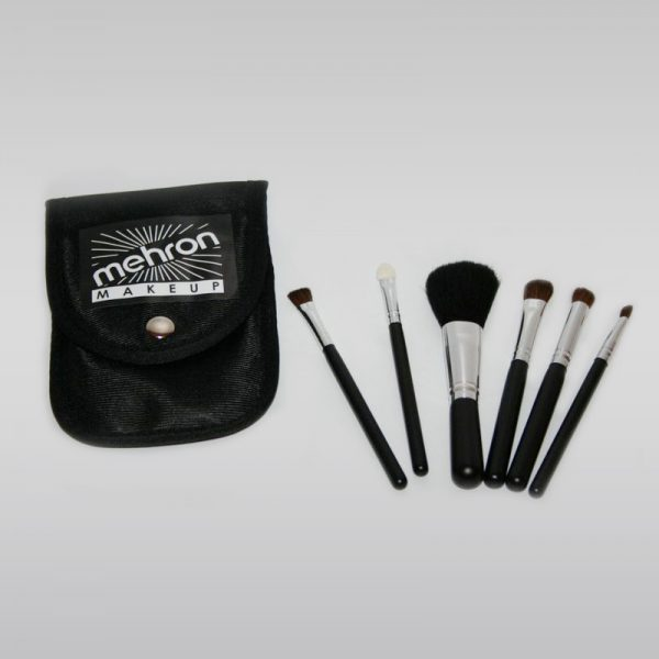 Mini Makeup Brush Set zestaw 6 pędzli MEHRON