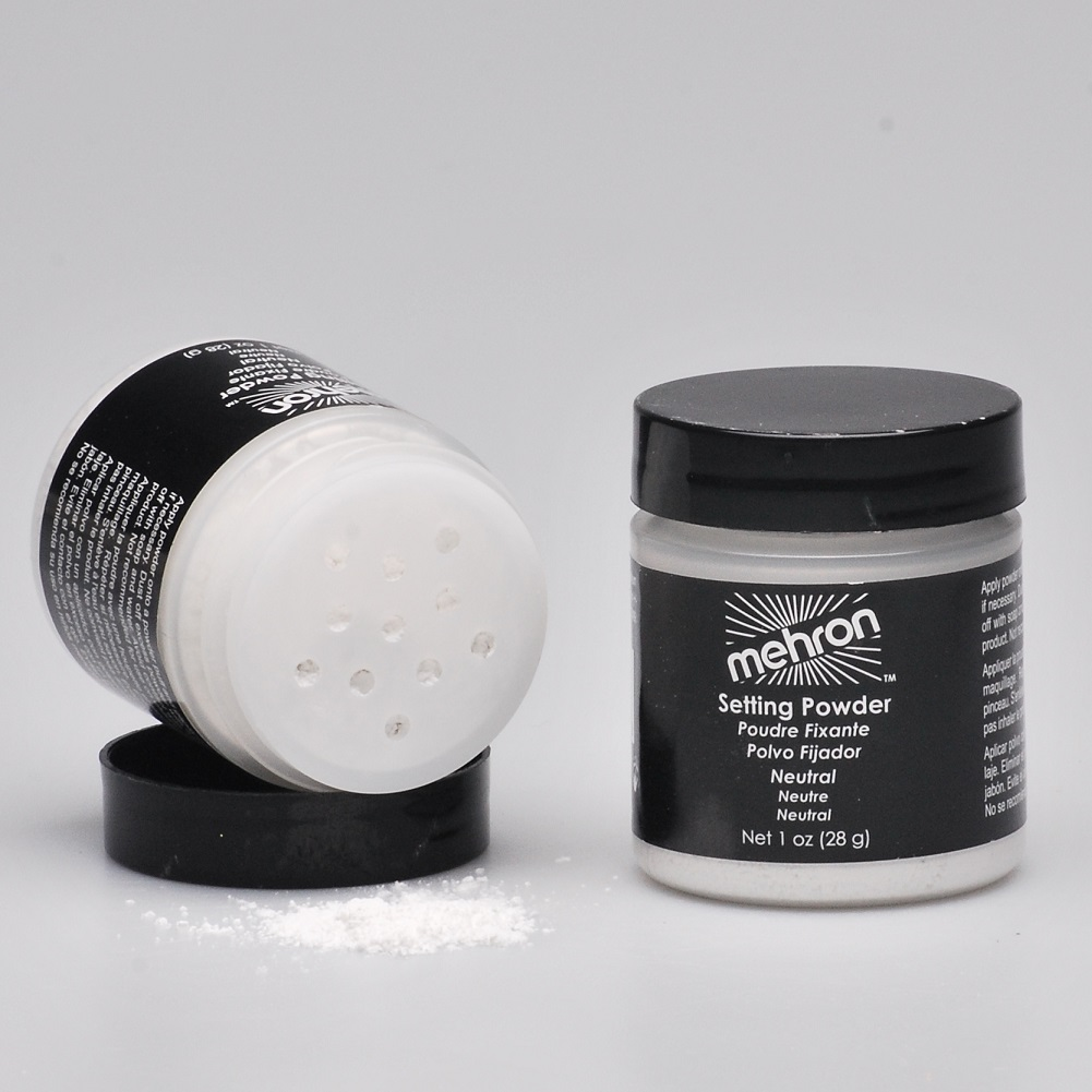 UltraFine Setting Powder puder fixujący z antyperspirantem MEHRON